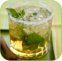 Mint julep punch