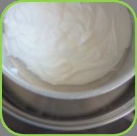 Cream step 1