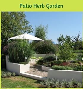 Patio Herb Garden