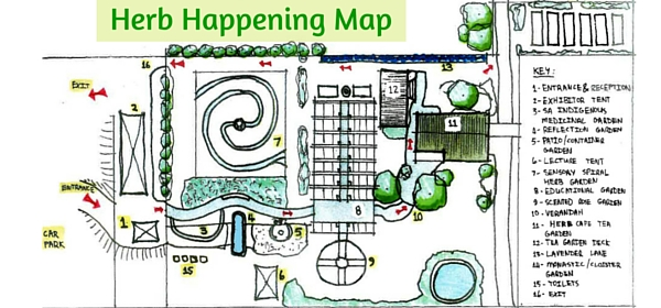 Herb Happening Map